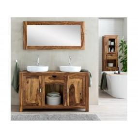 Set umývadlo+zrcadlo z masivního palisandru Kao