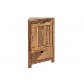 Rohová skříňka do koupelny z palisandru Kao