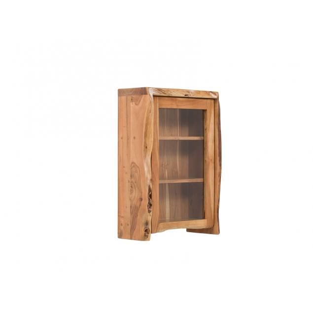 Nástěnná skříňka do koupelny z akátu Vayne