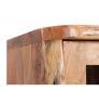 Vysoká skříňka do koupelny z masivního akátu Vayne