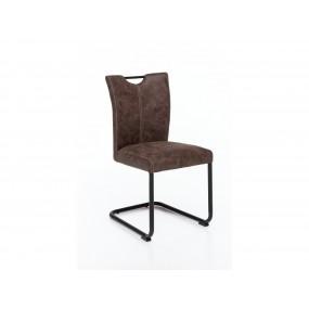 Židle z umělé kůže Keston