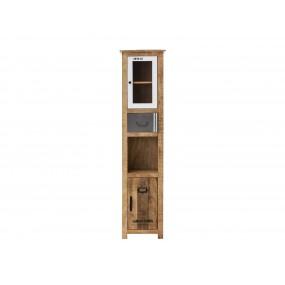 Vysoká skříňka do koupelny z manga Puma