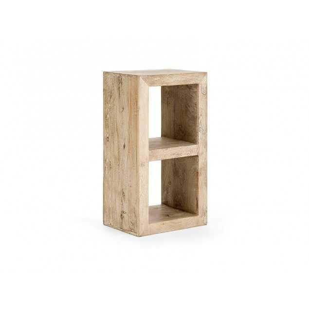 Dřevěný regál kostka 2 Patena