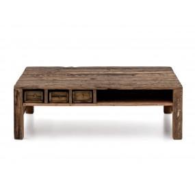 Konferenční stolek z masivního recyklovaného dřeva Thebeus