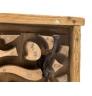 Nástěnný věšák z recyklovaného dřeva Thebus