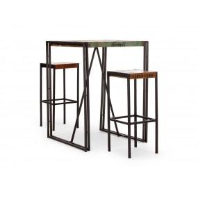 Starožitný barový stůl 80x80 Ontario
