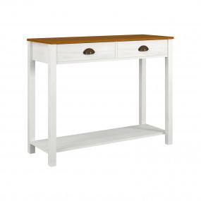 Konzolový stolek z masivní...