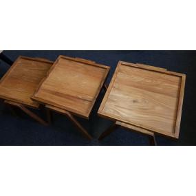 Set 3 odkládacích stolků z...
