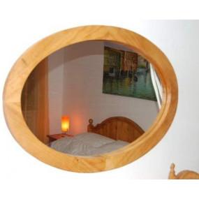 Oválné zrcadlo Hacienda -...