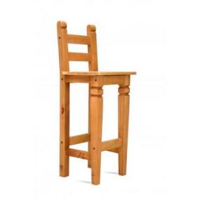 Barová židle z masivní...