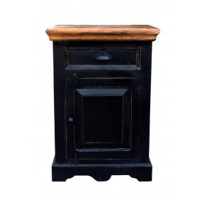 Černá skříňka do koupelny Sicilia
