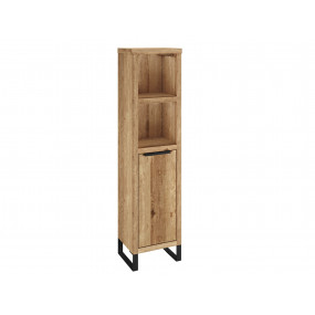 Masivní dřevěný regál do koupelny Victoria z divokého dubu