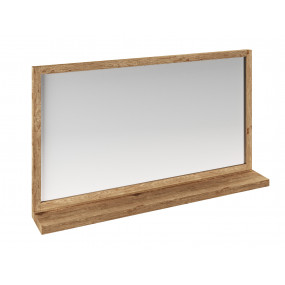 Dřevěné zrcadlo do koupelny...