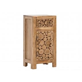 Masivní dřevěná skříňka do...