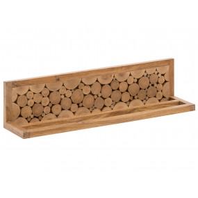 Masivní dřevěný věšák na...