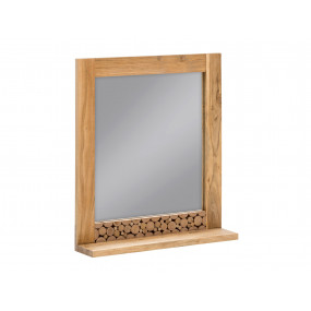 Masivní dřevěné zrcadlo...