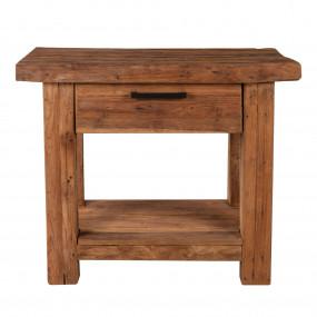 Masivní konzolový stolek Java