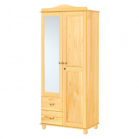 2dveřová šatní skříň se...