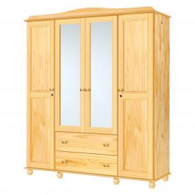 4dveřová šatní skříň z...