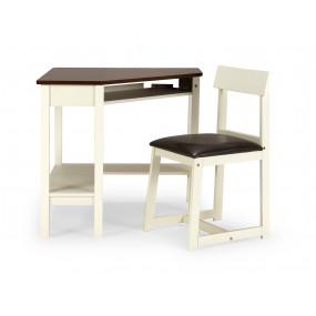 Rohový psací stůl+židle z...
