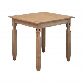 Masivní jídelní stůl 78x78...
