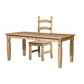 Masivní jídelní stůl 152×92...