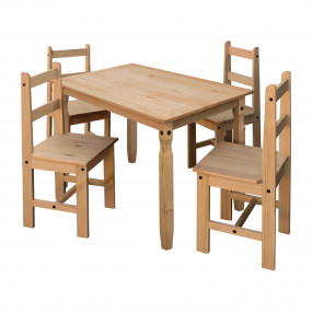 Masivní jídelní stůl 118x79...