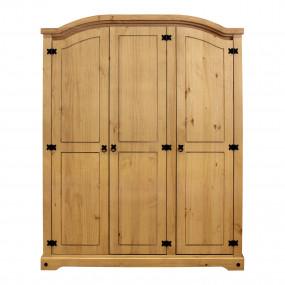     Masivní skříň 3 dveřová CORONA