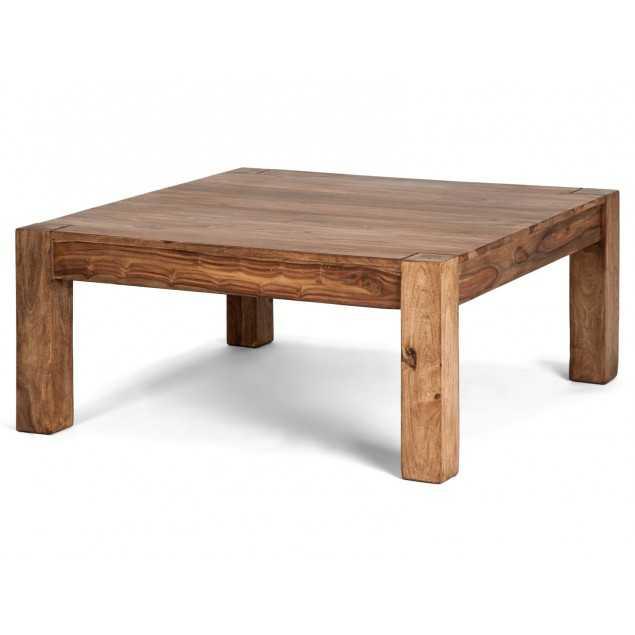 Konferenční stolek 90x90 dřevěný Sheesham