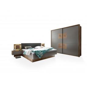 SET postel 180x200 + skříň...
