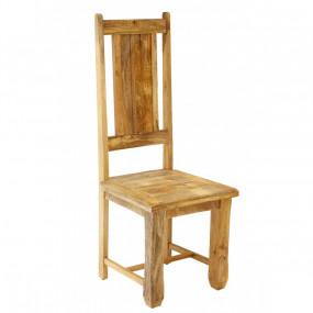 Židle z masivního manga Davos