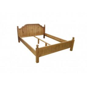 Masivní postel z borovice El Paso 160x200 Skladem