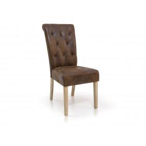 Židle z masivu Chesterfield