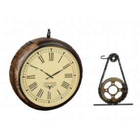 Starožitné hodiny staniční...