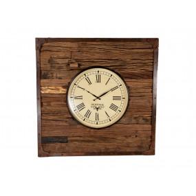 Nástěnné hodiny s kovovým...