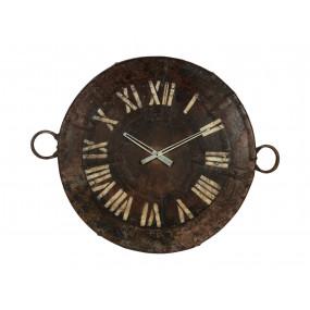 Kulaté kovové hodiny 67x67...