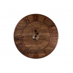 Nástěnné hodiny dřevěné 92x92