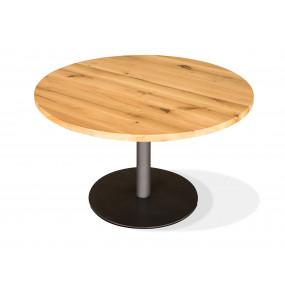 Kulatý stůl z masivu 110 cm...