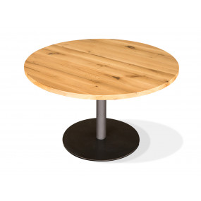 Kulatý stůl z masivu 120 cm...