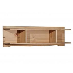 Dřevěná polička masivní...
