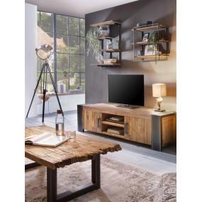 TV stolek z masivu Corola teak