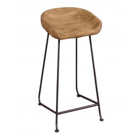 Barová židle z masivu Edgar