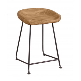Barová židle z masivu Edgar II