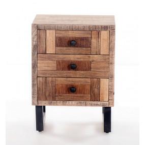 Noční stolek z masivu Parkett