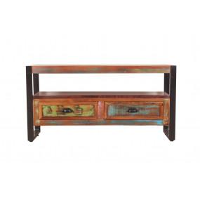 TV stolek z starého dřeva Jupiter III