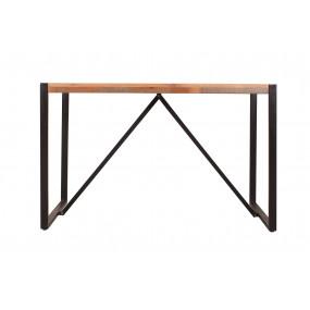 Stůl ze dřeva a kovu 120x70 Jupiter