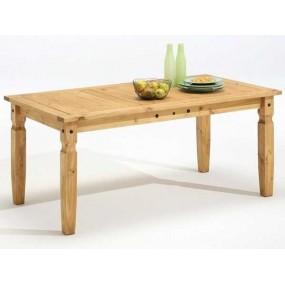 Dřevěný jídelní stůl Mexiko přírodní