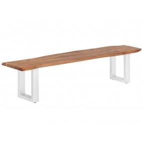 Dřevěná lavice 190x40...