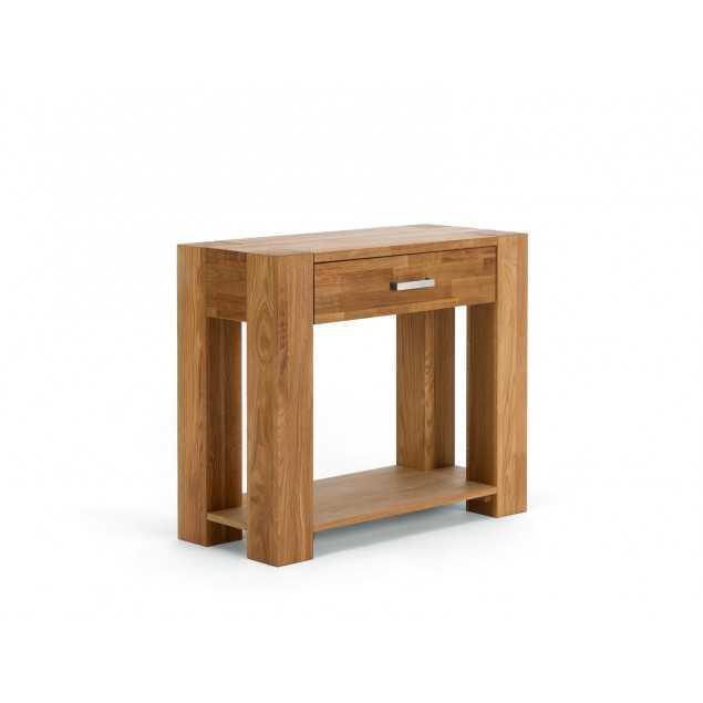 Masivní konzolový stolek z dubu Dios