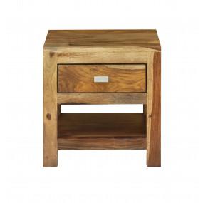 Noční stolek z masivu Monroe PALISANDR
